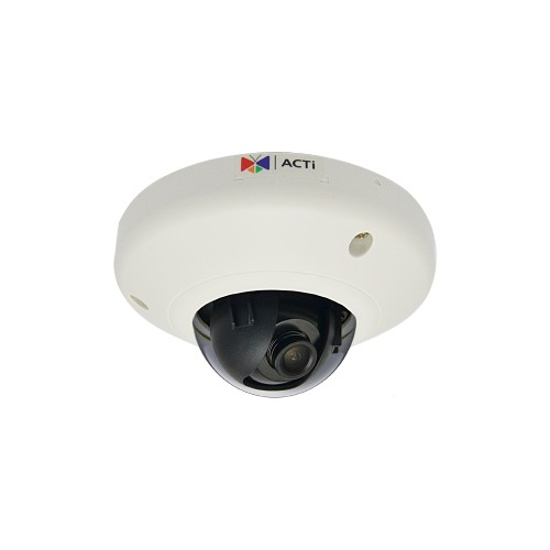 E912 5MP Indoor Mini Dome with Extreme WDR, Superior Low Light Sensitivity
