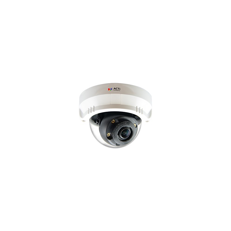A63 2MP Indoor Mini Zoom Dome with D/N, Adaptive IR, Advanced WDR, SLLS