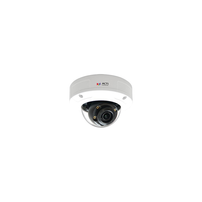 A812 5MP Outdoor Mini Zoom Dome with D/N, Adaptive IR, Extreme WDR, SLLS