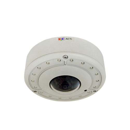 B76A 12MP, Outdoor Hemispheric Dome, Day / Night, Extreme WDR, Superior Low Light Sensitivity, Built-in Analytics