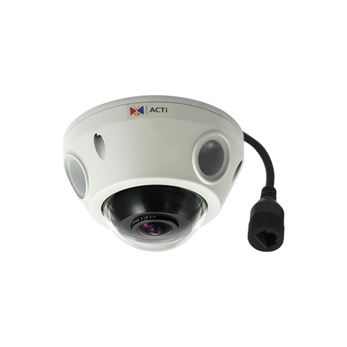 E925 5MP, Outdoor Mini Fisheye Dome, Day / Night, Adaptive IR, Basic WDR
