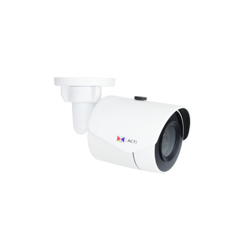 E38  -2MP, Mini Bullet, Day / Night, Adaptive IR, Extreme WDR, Superior Low Light Sensitivity, Built-in Analytics